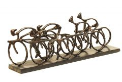 Cyclist Sculpture Bronze
