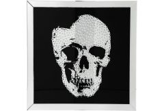 Picture Frame Mirror Skull