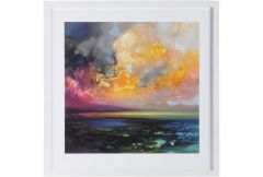 Isle of Jura Emerges Framed Print