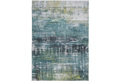 Atlantic Streaks Rug - Glen Cove Green