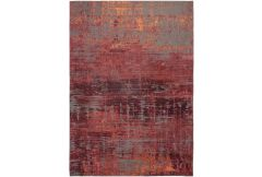 Atlantic Streaks Rug - Nassau Red