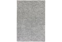 Camden Rug  - Black and White