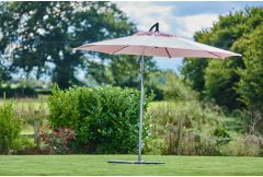 Riviera - 3m Free Arm Parasol Candy Floss (LAST ONE!)