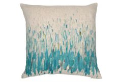 Deep Splash Teal - Cushion
