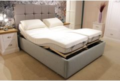 King Size Adjustable Bed & Diamond Mattress - Clearance