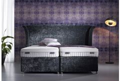 Dunlopillo - Firmrest Mattress on a Firm Edge Pocket Divan Base