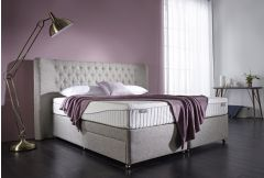 Dunlopillo - Ochid Mattress on a Firm Edge Pcket Divan Base