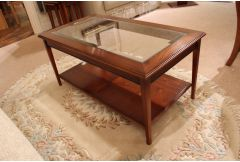 Hepplewhite - Rectangle Glass Coffee Table