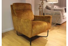 Raphael - Accent Chair in Gold