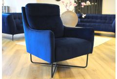 Raphael - Accent Chair in Navy