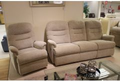Keswick - 3 Seat Recliner Sofa & Power Recliner Chair - Clearance