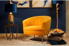 Marie - Occasional Chair (Yellow)