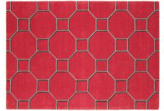 Matrix Rug -  Cassin Red