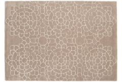 Matrix Rug - Crochet Beige