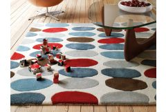Matrix Rug - Sofia Red/Teal