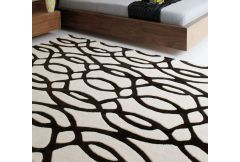 Matrix Rug - Wire White