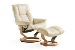 Stressless Mayfair - Medium Chair & Stool