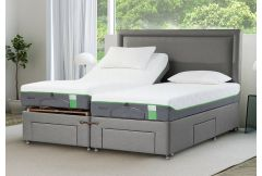Tempur - Moulton Electric Adjustable Massage Divan