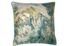 Ocean Metallic Print - Cushion