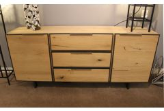 Palermo - 2 Door 3 Drawer Sideboard - Clearance