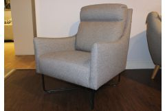 Raphael - Accent Chair in Grey - Clearance