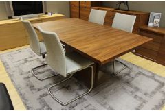 Skovby  - Dining Table with 2 Leaves & 4 Chairs
