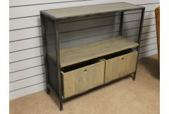 Tiptree - Metal Console Table - Clearance