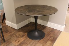 Turnberry - 100cm Round Dining Table - Clearance