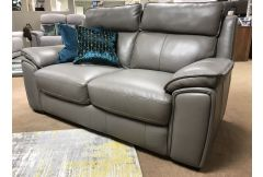 Valentino - 2 x Leather 2 Seat Sofas - Clearance