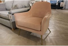 Westlyn - Accent Chair (Blush Pink) - Clearance