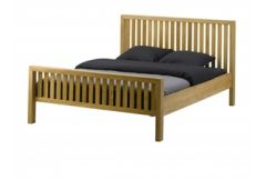 Cannes - 150cm Bedframe including slats