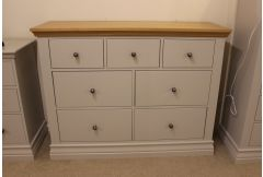 Anastasia - 3+4 Drawer Chest - Clearance