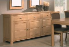 3 Door and Drawer Sideboard (E20M)
